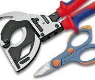 Immagine per la categoria B5 - Cesoie, coltelli e forbici per cavi elettrici, passacavi